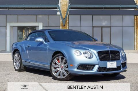 Pre-Owned 2014 Bentley Continental GTC GT V8 Convertible